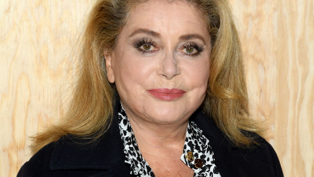FOTO Catherine Deneuve sufre accidente cerebrovascular (Getty Images)