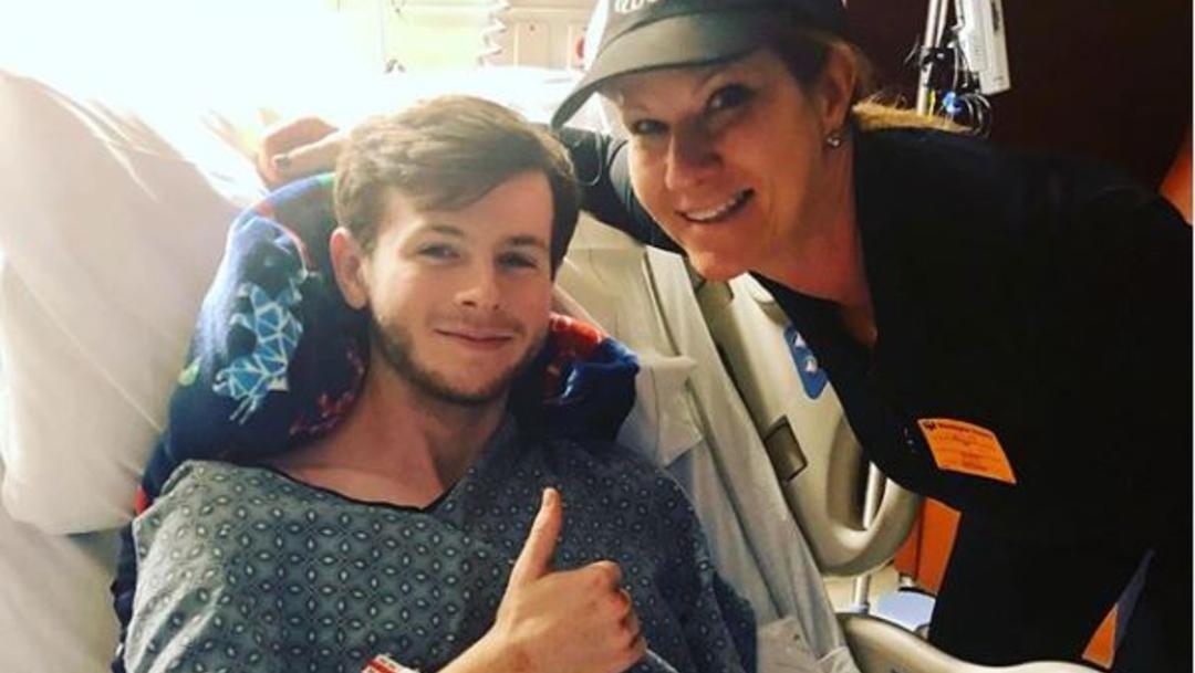 Foto: Hospitalizan a Chandler Riggs, actor que interpreta a Carl Grimes en The Walking Dead, 23 noviembre 2019