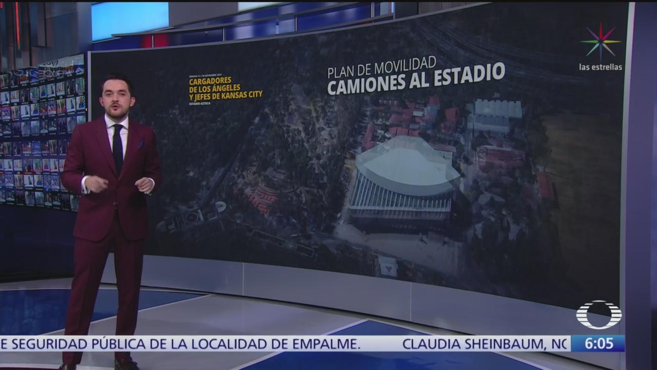Chargers de los Ángeles y los Chiefs Kansas City jugarán en el Estadio Azteca
