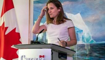 Chrystia Freeland, viceprimera ministra de Canadá.