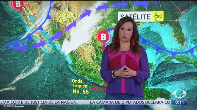 Clima Al Aire: Continuará ambiente muy frío en BC, Sonora, Chihuahua y Durango