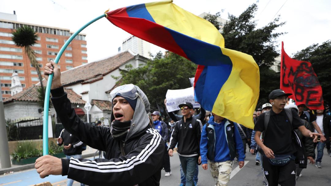 Foto: Este miércoles se lleva acabo el séptimo día de protestas contra el Gobierno del presidente Iván Duque, 27 noviembre 2019