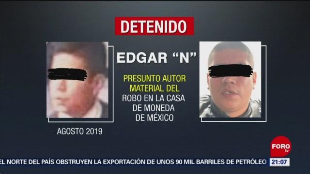 Foto: Orden Aprehensión Implicado Robo Casa Moneda 7 Noviembre 2019