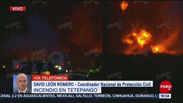 Foto: Incendio Toma Clandestina Tetepango Saldo Blanco 20 Noviembre 2019