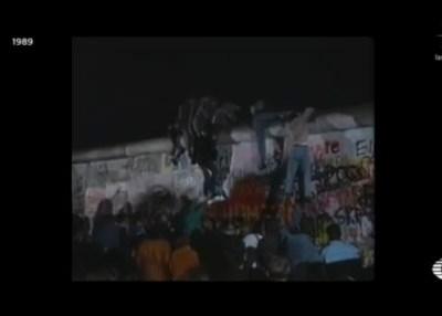 Conmemoran 30 años de caída del Muro de Berlín