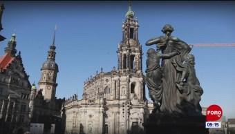 Conociendo la catedral de Dresden