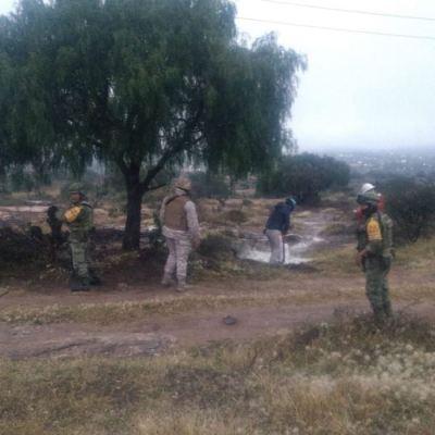 Controlan fuga en poliducto Tuxpan-Tula, provocada por toma clandestina