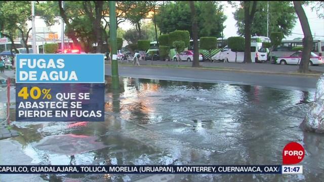 Foto: Coyoacán Alcaldía Más Fugas Agua Potable 4 Noviembre 2019