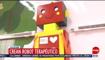 Foto: Robot Terapéutico Creado Yucatán 19 Noviembre 2019