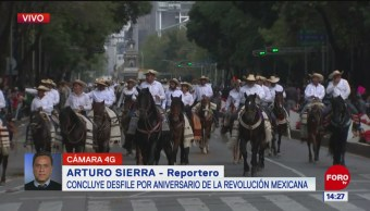 FOTO: Cuántas personas participaron desfile 20 noviembre,