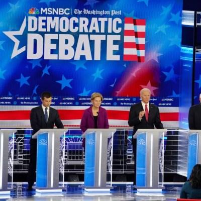 Todos contra Trump: Quinto debate demócrata emociona menos que el 'impeachment'