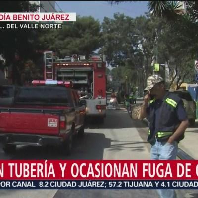 Desalojan a estudiantes por fuga de gas en la Del Valle, CDMX