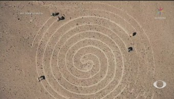 FOTO: Descubren 143 glifos en Nazca, Perú, 18 noviembre 2019