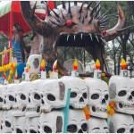 Foto: Artesanos cartoneros de Chimalhuacán también dieron muestra de su talento, 2 de noviembre de 2019 (Secretaría de Cultura)