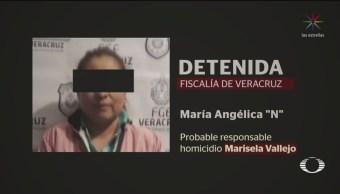 FOTO:Detienen a exalcaldesa de Mixtla, Veracruz; se le acusa de homicidio, 15 noviembre 2019