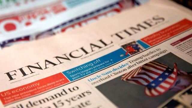 Diario británico Financial Times