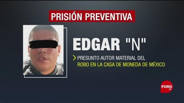 Foto: Prisión Preventiva Implicado Robo Casa De Moneda 8 Noviembre 2019