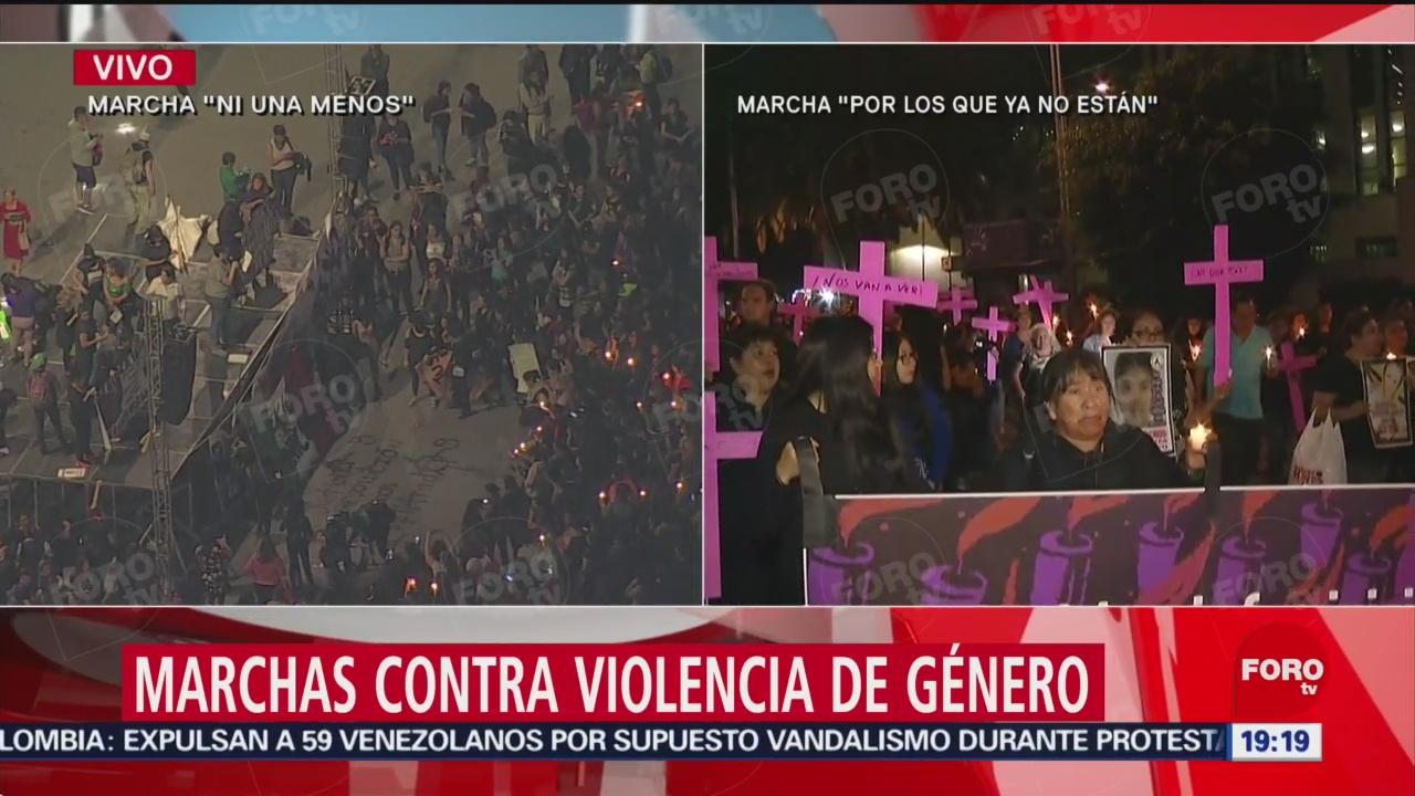 Foto: Diego Luna Acompaña Marcha Por Los Que Ya No Están 25 Noviembre 2019