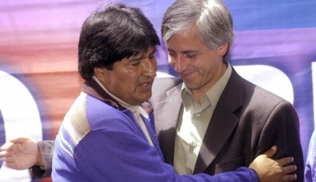 Foto: Morales y Linera aparecieron juntos por sorpresa en un video en el que también hacen un llamado a la pacificación del país, 10 de noviembre de 2019 (Getty Images, archivo)