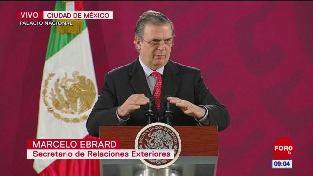 Ebrard afirma que cooperación México-EU por caso LeBarón será eficaz