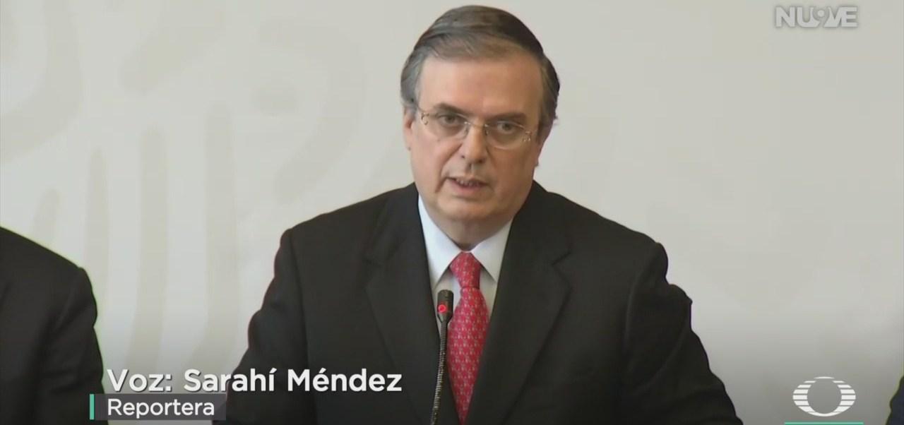 FOTO: Ebrard anunció avances materia cooperación EEUU