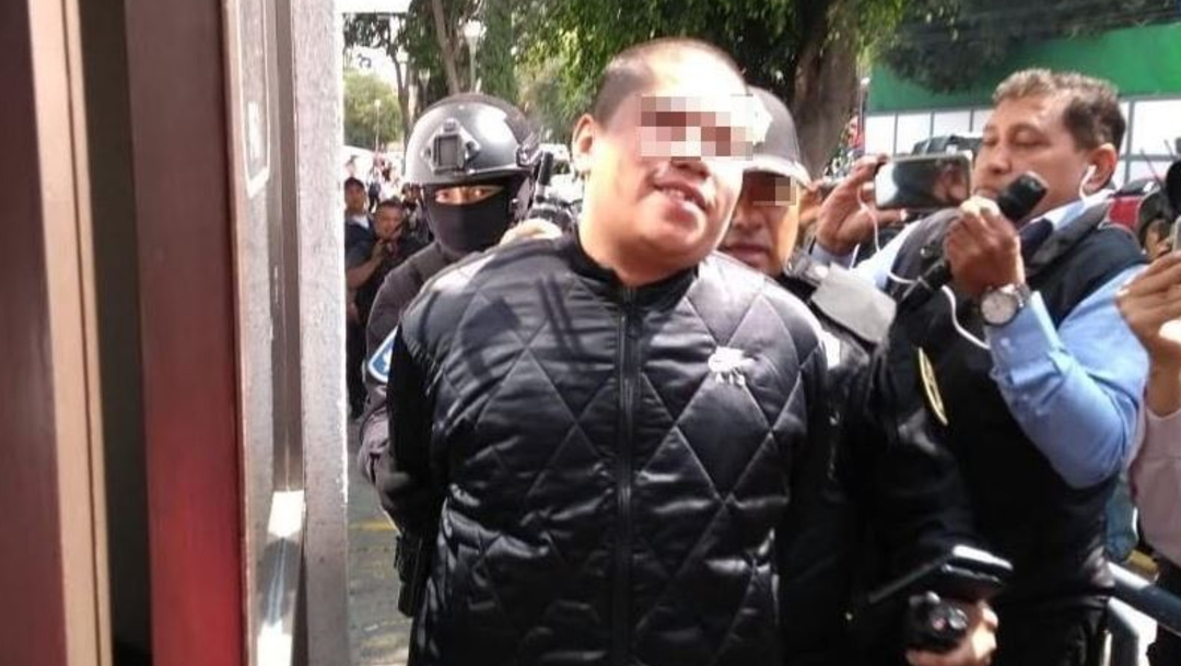 Imagen: Édgar Tenorio Juárez de 25 años de edad, se le relaciona con el robo de mil 567 centenarios a la Casa de Moneda, 13 de noviembre de 2019 (Cuartoscuro archivo/Isaac Esquivel)