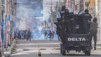 Presidenta interina da inmunidad a Ejército boliviano en protestas