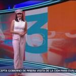 FOTO: Clima con Daniela Álvarez 11 noviembre 2019,