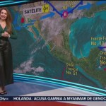 FOTO: Clima Con Mayté Carranco 11 Noviembre 2019,