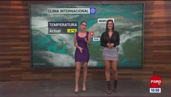 El #ClimaenExpreso internacional del 11 de noviembre del 2019