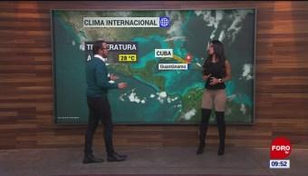 FOTO: El #ClimaenExpreso internacional del 18 de noviembre del 2019, 18 noviembre 2019
