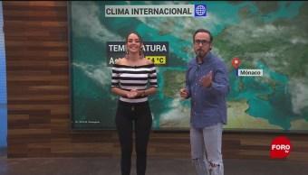 El #ClimaenExpreso internacional del 22 de noviembre del 2019