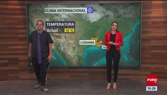 El #ClimaenExpreso internacional del 4 de noviembre del 2019