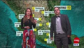 El #ClimaenExpreso nacional del 5 de noviembre del 2019