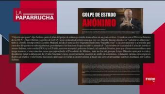 Foto: Presunto Golpe Estado Contra Amlo Noticias Falsas 4 Noviembre 2019