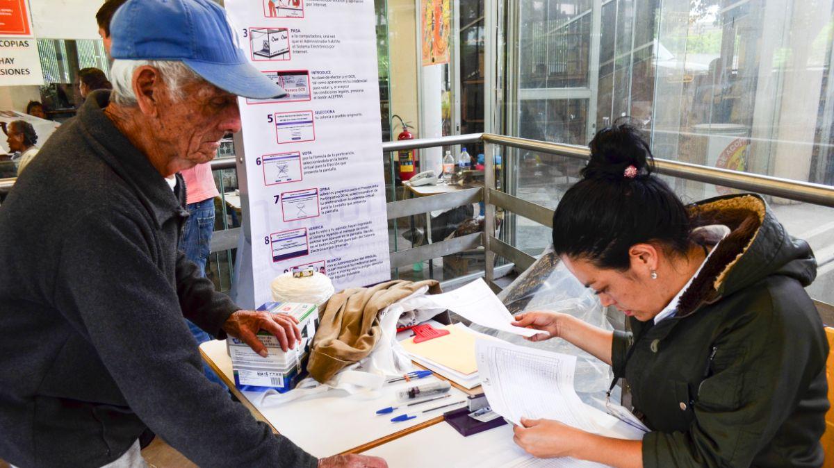 Elecciones de comites ciudadanos en CDMX.