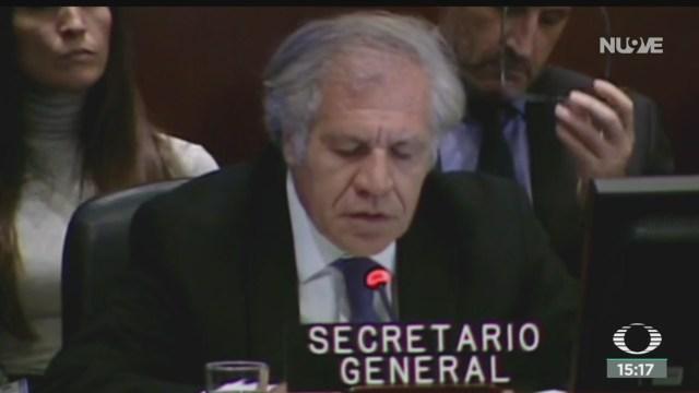 FOTO: Embajador Bolivia ante OEA habría renunciado