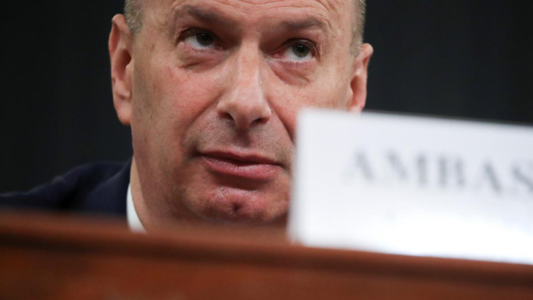 Foto: Según las investigaciones legislativas, Trump había presionado a Zelenski a que anunciara una averiguación contra Joe Biden, 20 de noviembre de 2019 (Reuters)