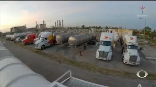 Foto: Embargan 24 Pipas Combustible Reynosa Tamaulipas 19 Noviembre 2019