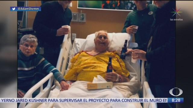 Enfermo de cáncer cumple su último deseo