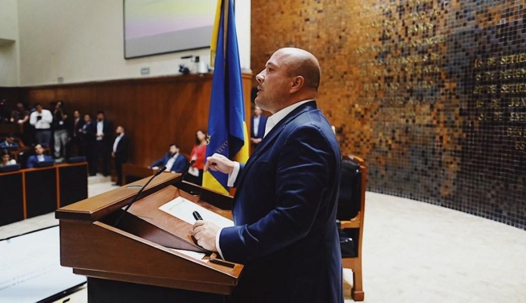 Enrique Alfaro rindió su Primer Informe de Gobierno