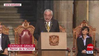 Foto: Enrique Graue Promete Que Su Rectoría UNAM Será Sensata Prudente