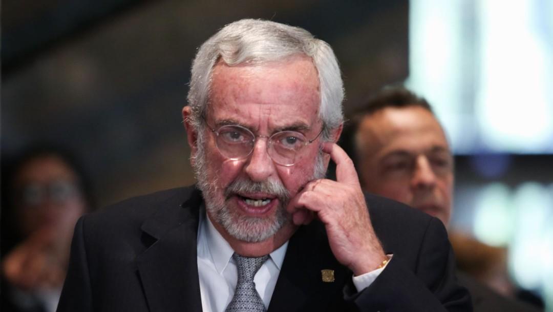 Imagen: Enrique Luis Graue será rector de la UNAM para el periodo 2019-2023, el 8 de noviembre de 2019 (Foto: Galo Cañas /Cuartoscuro.com)