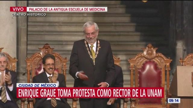 Foto: Enrique Graue toma protesta como rector UNAM