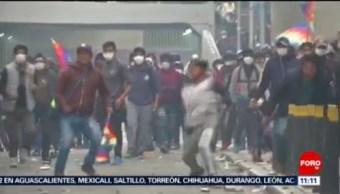 FOTO: Entretantos en Bolivia dejan cinco muertos, 16 noviembre 2019