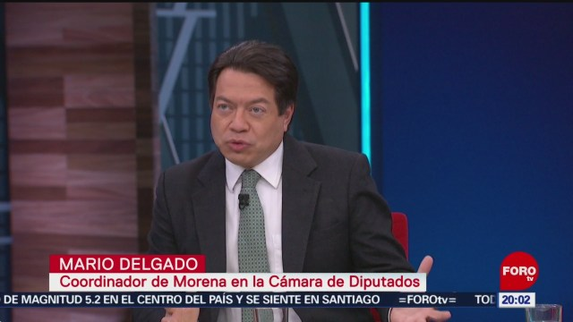 FOTO: Entrevista a al diputado Mario Delgado (Parte 1), 24 noviembre 2019