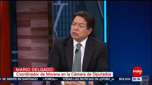 FOTO: Entrevista a al diputado Mario Delgado (Parte 2), 24 noviembre 2019