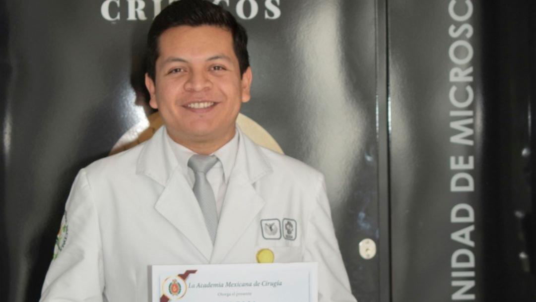 Foto: Alumno de la UNAM gana concurso por proyecto de medicina regenerativa, 21 de noviembre de 2019 (UNAM)