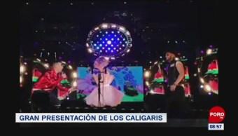 #EspectáculosenExpreso: Gran presentación de 'Los Caligaris'