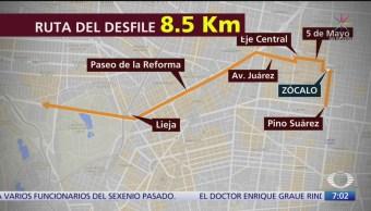 Esta es la ruta del desfile de la Revolución Mexicana en CDMX